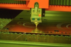 Laser Cutting Copper